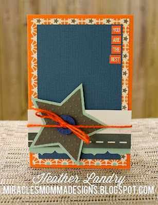 Embossed Star_Masculine Card_Twine