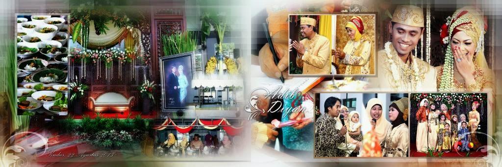 Foto contoh Wedding jasa Fotografi Adib & Diyan