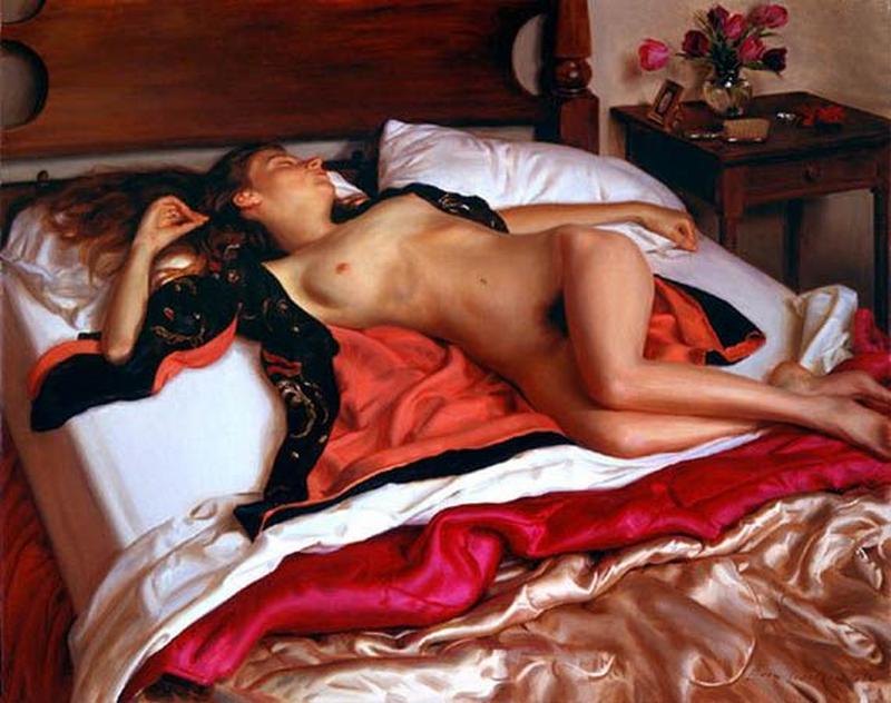 D.W.C. Nude - Painter Evan Wilson