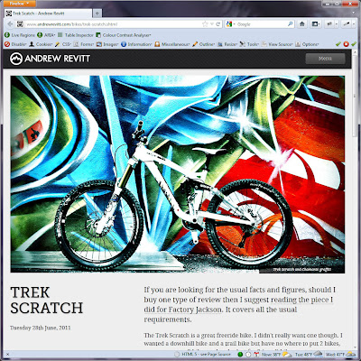 Screen shot of http://www.andrewrevitt.com/bikes/trek-scratch.shtml.