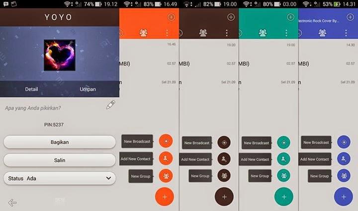 BBM Mod Otomatis Ganti Warna Tampilan