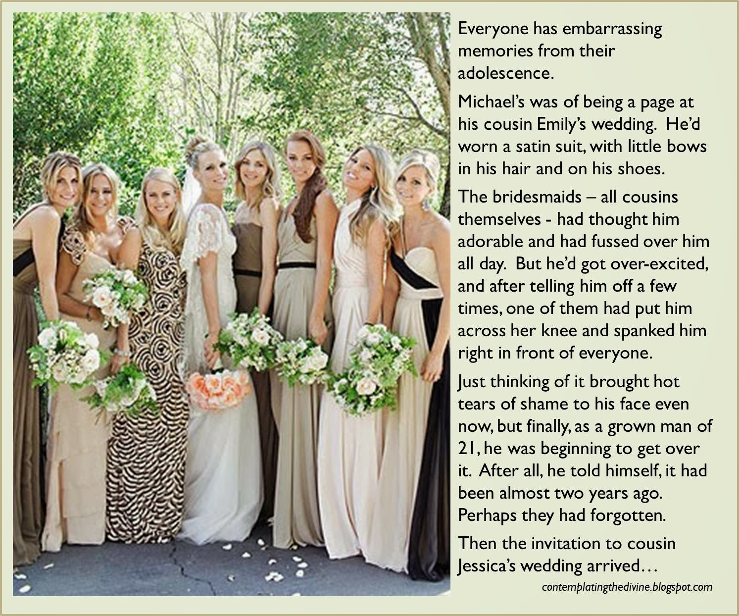 Bridesmaid humiliation