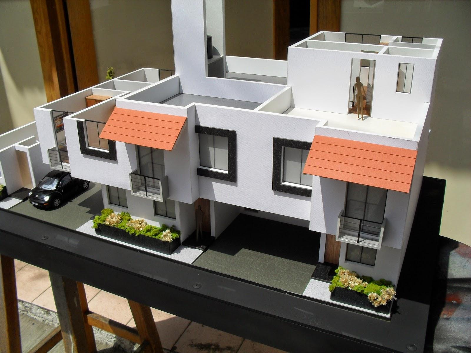 Maqueta De Casa Habitacion