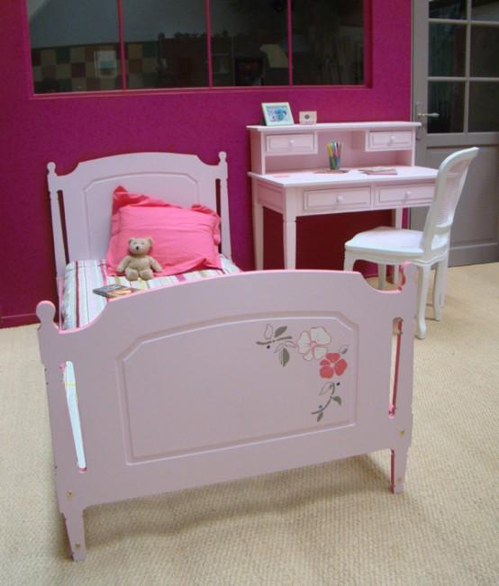 Decoracion dise o dormitorios de ni a for Camas individuales para ninas