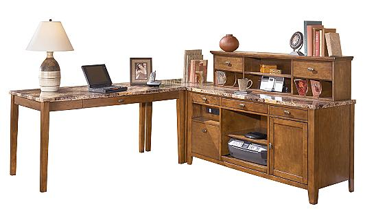 Ashley furniture homestore quottheoquot home office collection for Ashley furniture home office collection