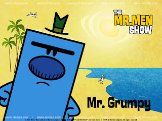 Mr Men Show Mr Grumpy Wallpaper