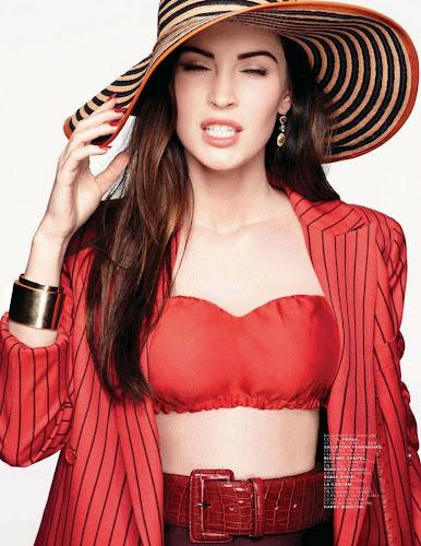 Megan Fox Jalouse Magazine Scans