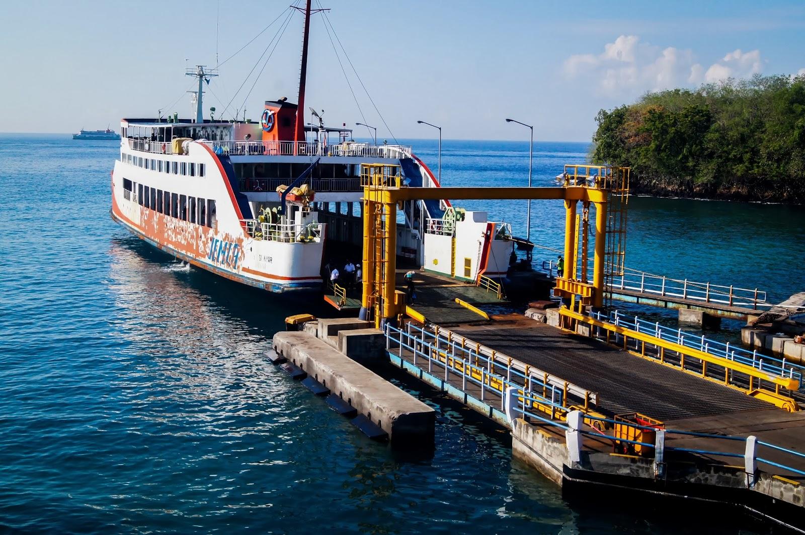 Ferry en Bali