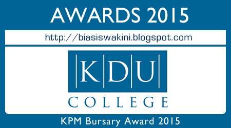 KPM Bursary Awards 2015 - KDU College Penang