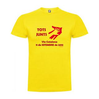 Samarreta Via Catalana Tots Junts
