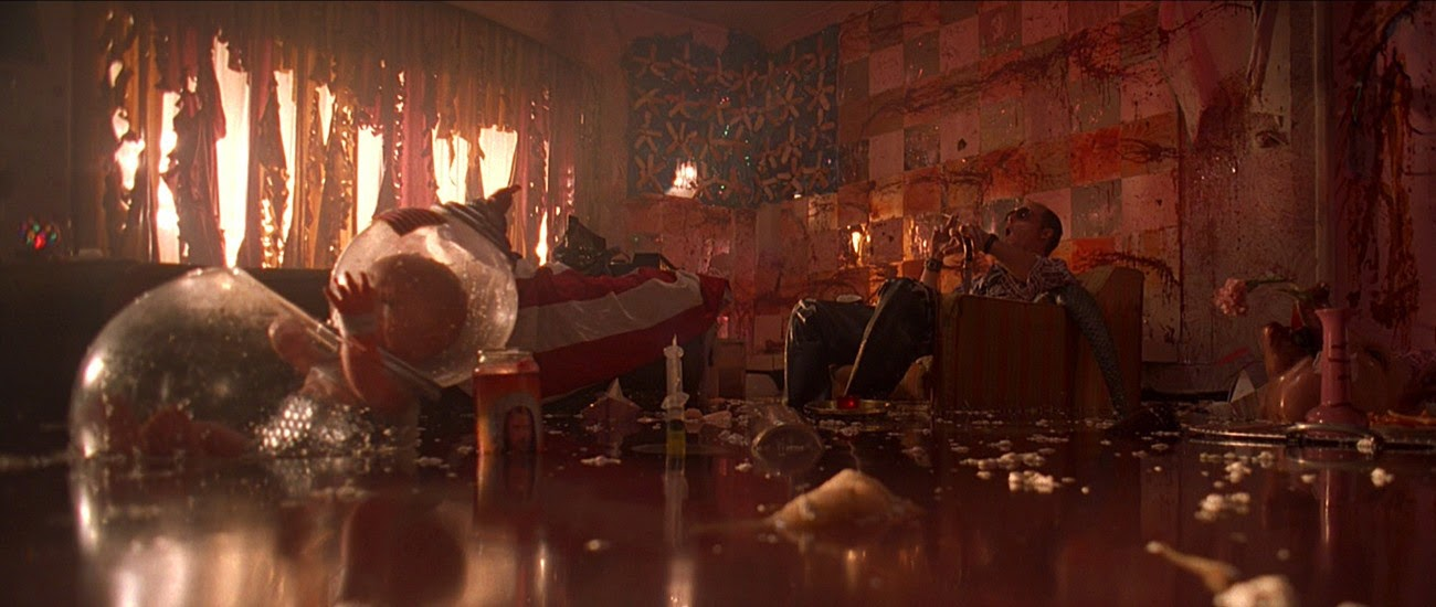 johnny depp Fear and Loathing in Las Vegas hotel thrashed