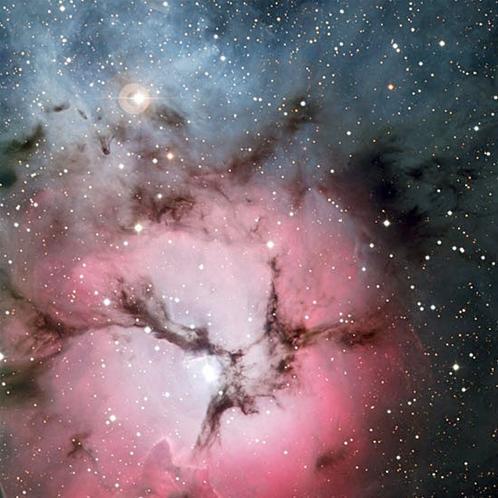 Resultado de imagen de El telescopio capta la imagen conocida por el árbol de navidad