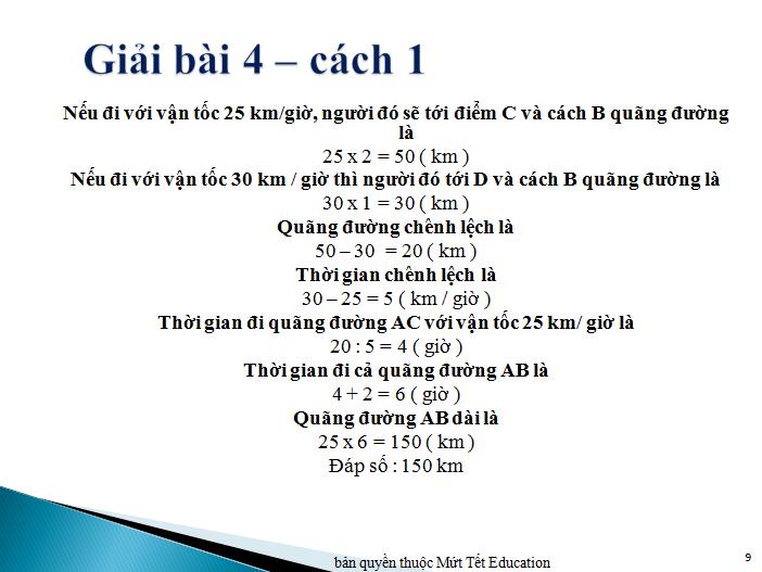 Bài toán chuyển động đều nâng cao (8)