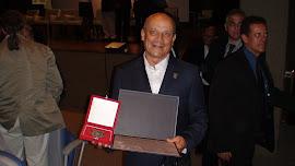 Homenagem do CREF7 com Medalha de Honra ao Mérito para o Mestre Tabosa