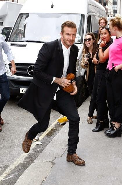 Besides Beckham decided to make emphasis