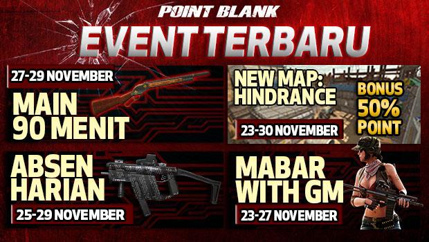 Dapatkan Senjata Gratis Lewat Event Terbaru Main Game Bareng GM PB Garena Indonesia