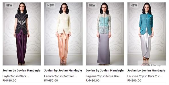 Baju daripada Jovian memang cantik dan menarik Price range startfrom