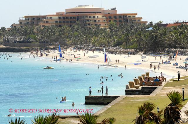 Varadero, una playa de finas arenas y aguas de una azul exquisito, fue el primer destino en arribar al un millón de turistas recientemente
