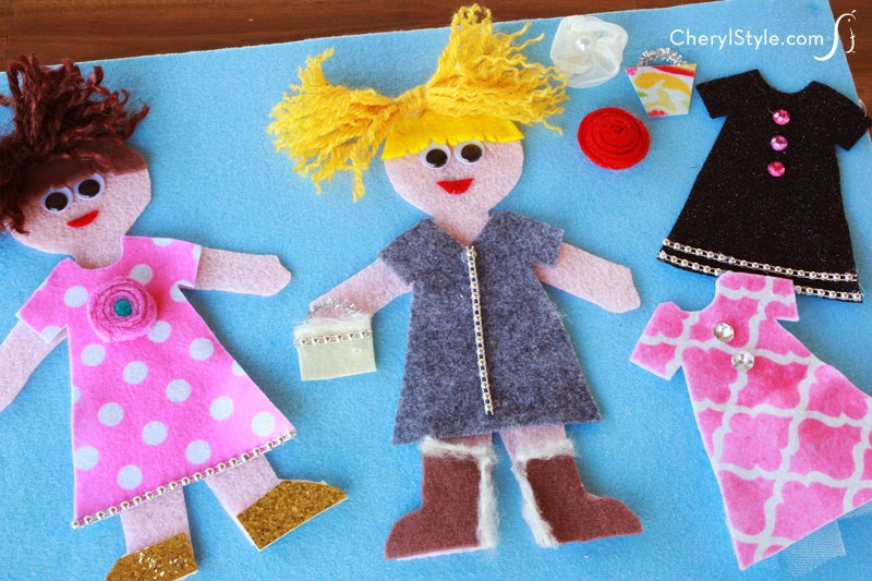 http://www.cherylstyle.com/showcase/diy-felt-dress-up-dolls/