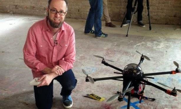 شركة امريكية تطور صاعق للحراسة في طائرة بدون طيار