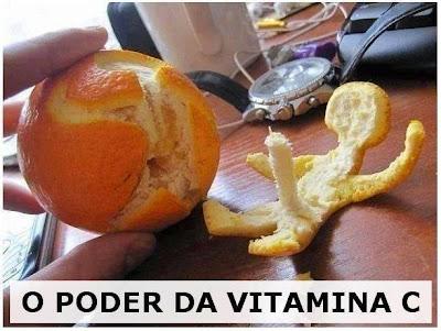 Conhece o poder da vitamina C?