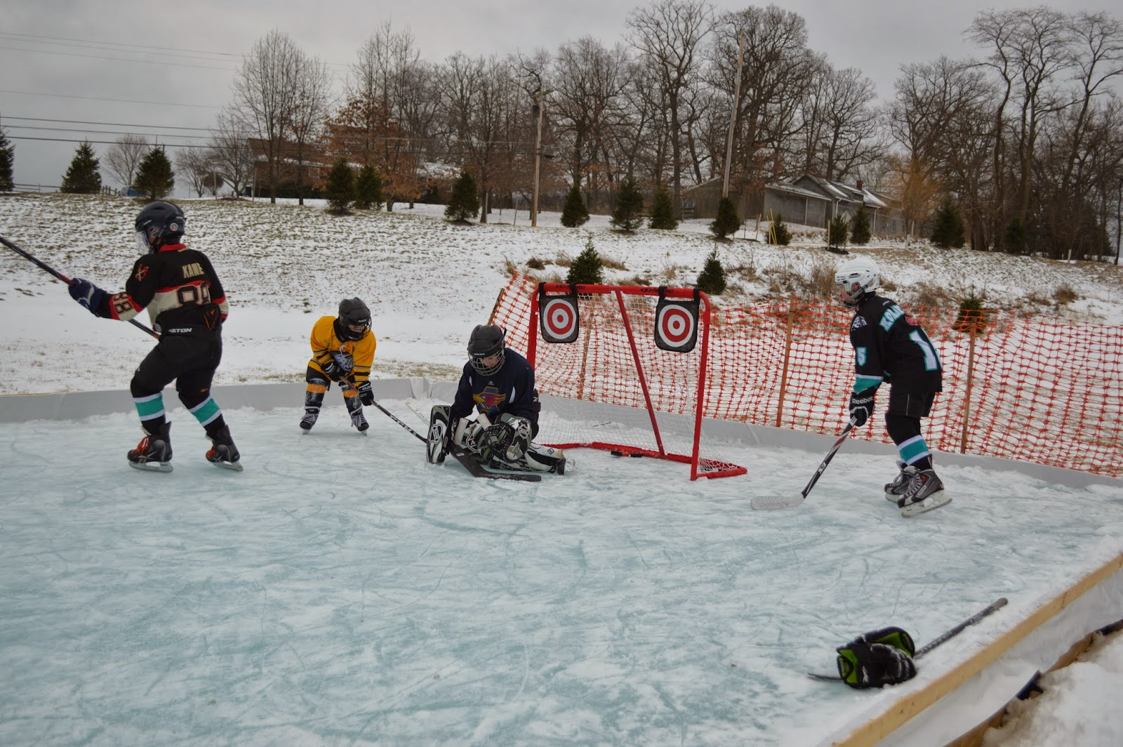 mom swim bike run our outdoor ice rink and a story that will melt