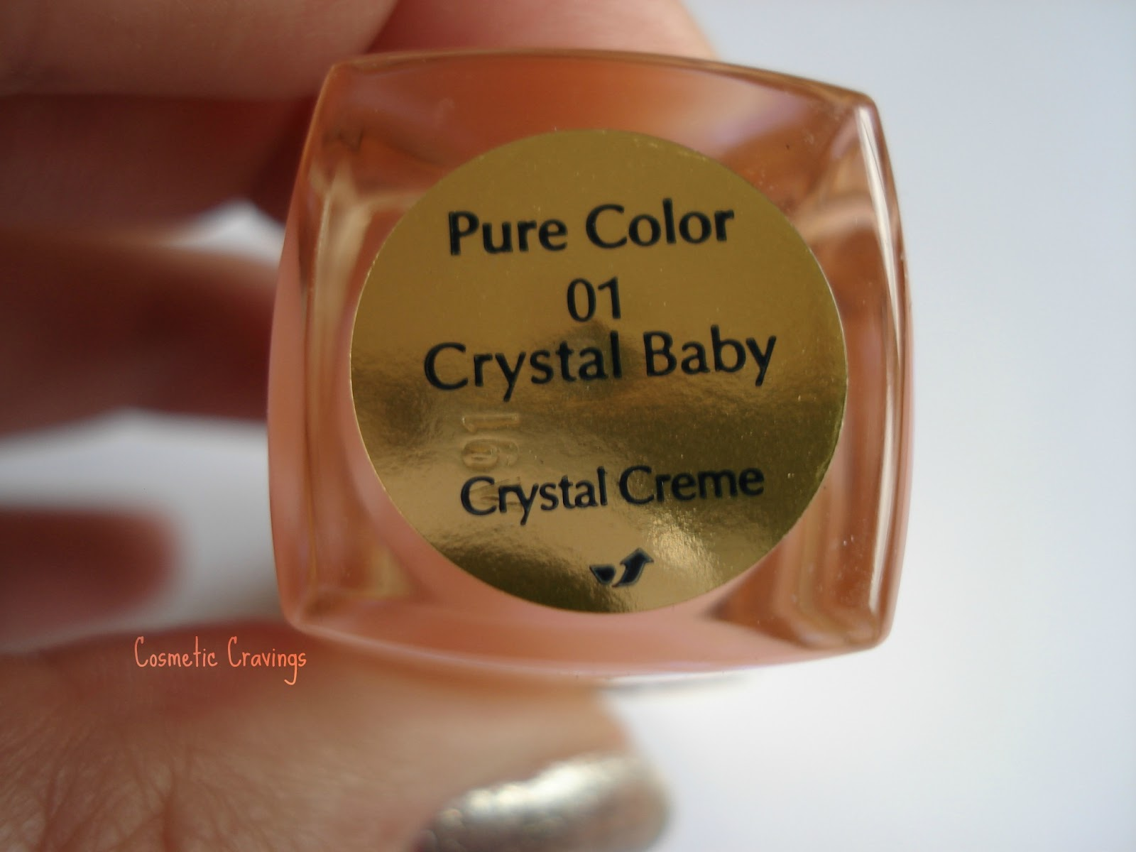 pics Estee Lauder Crystal Baby Pure Color Long Lasting Nail Lacquer (21.00)