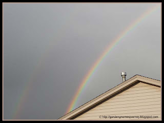 double rainbow southwestern Ontario April 26, 2012