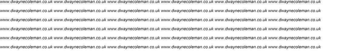 Dwayne Coleman