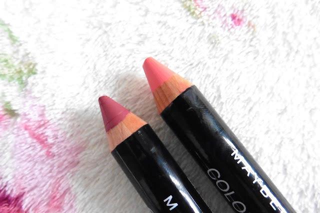Maybelline Colour Drama Velvet Lip Pencils