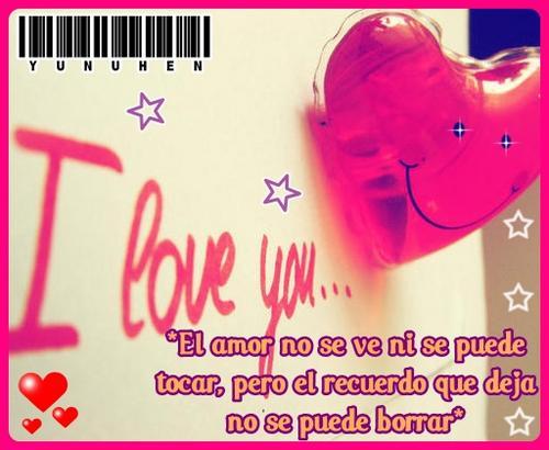 tarjetas con frases de amor con corazón
