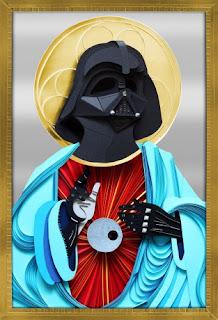 "Lobulo design ""Darth Vader"""