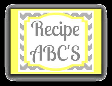 Recipe ABC's