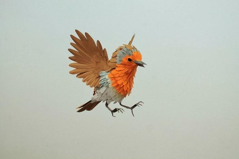 Pájaros de papel de Diana Beltrán Herrera