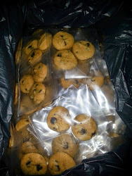 4pcs Choc Chip Cookies @ RM0.90