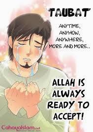 gambar Kartun  Muslim taubat