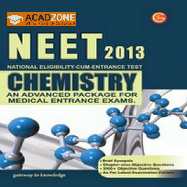 NEET-2013 Chemistry An Advanced Package For Medical Entrance Exams