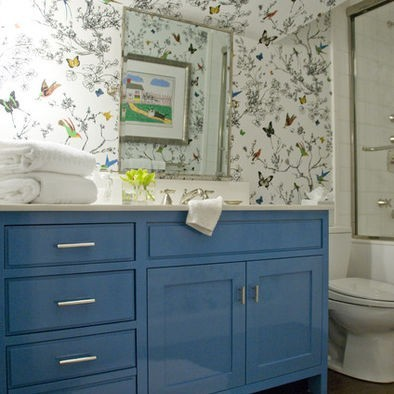 To da loos: A dozen fun Blue bathroom vanities