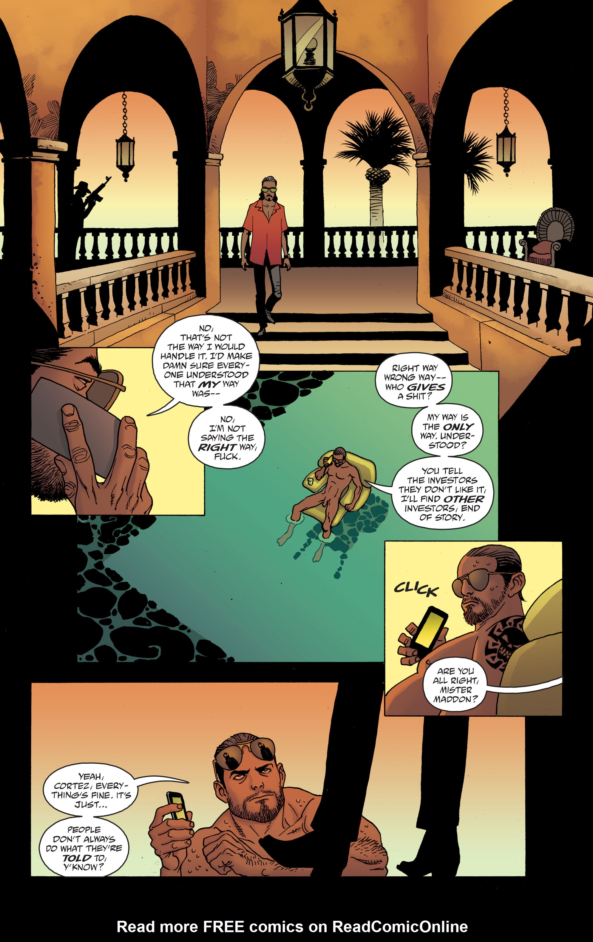 100 Bullets: Brother Lono Full Page 110