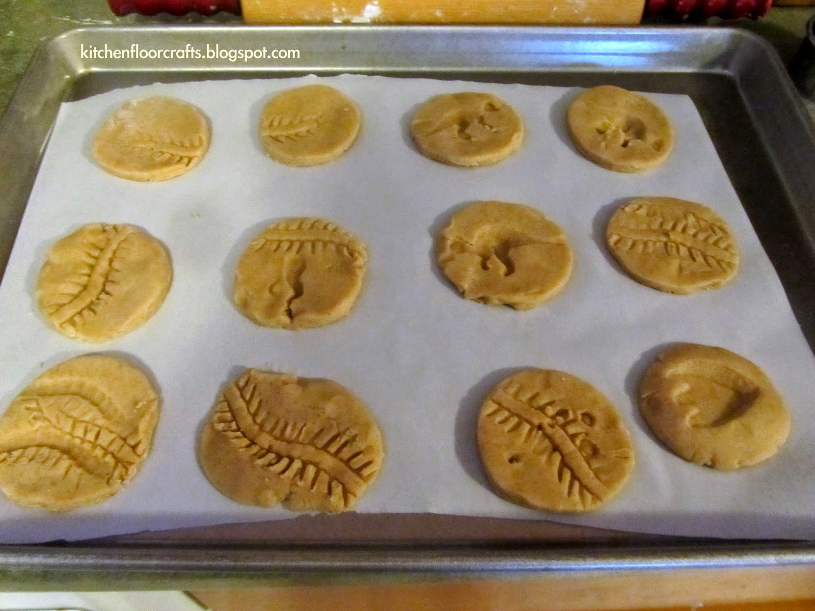 Fossil Cookies Recipe — Dishmaps
