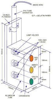 Traffic Light Controller Circuit diagram