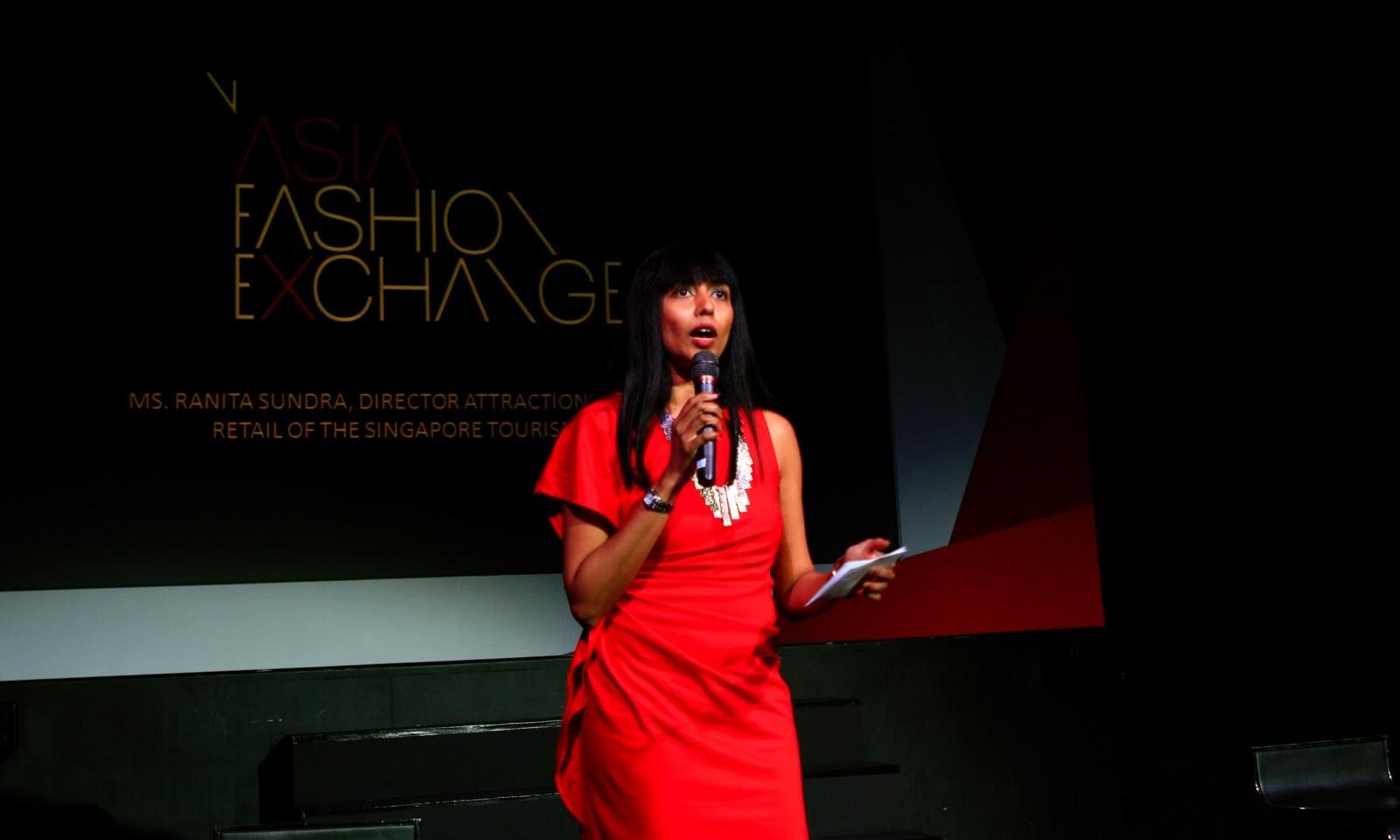 Asia Fashion Exchange Press Conference