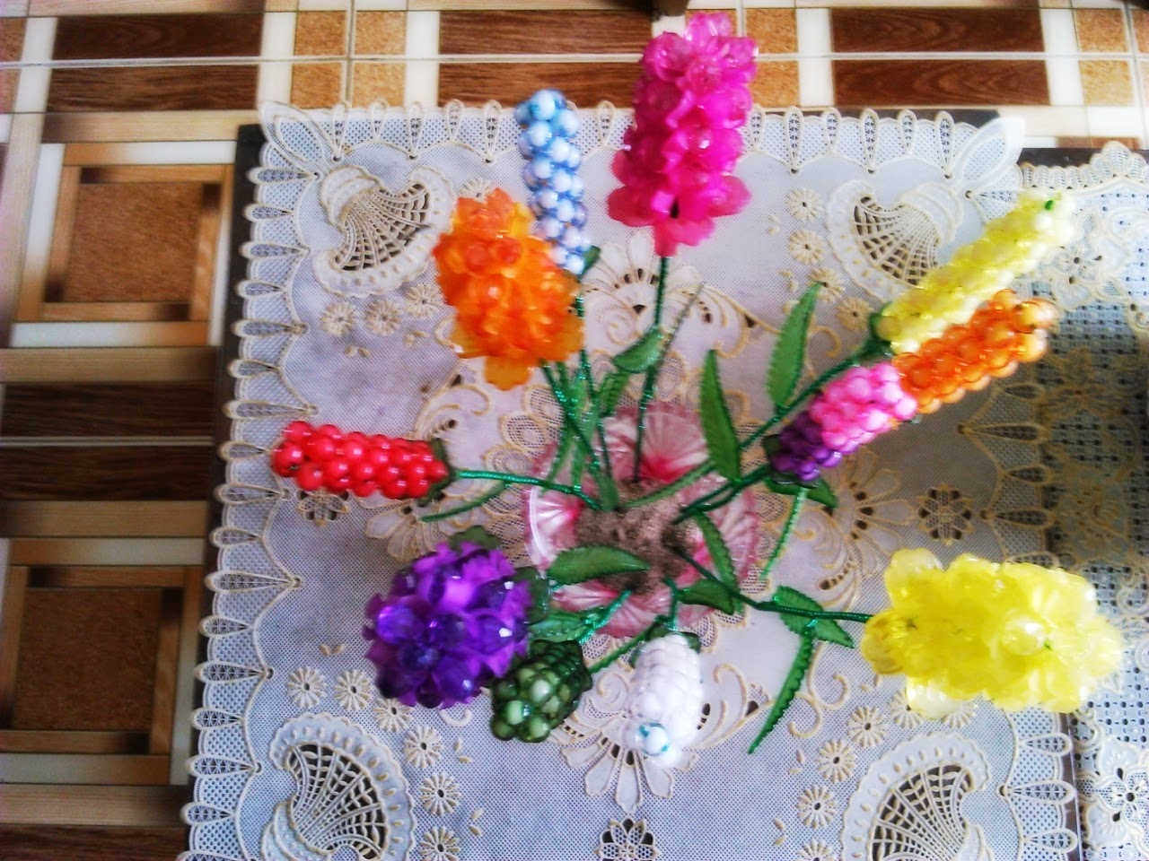 DIY Crafts beautiful Lily flower Creativehozz About Home Decorating Design
