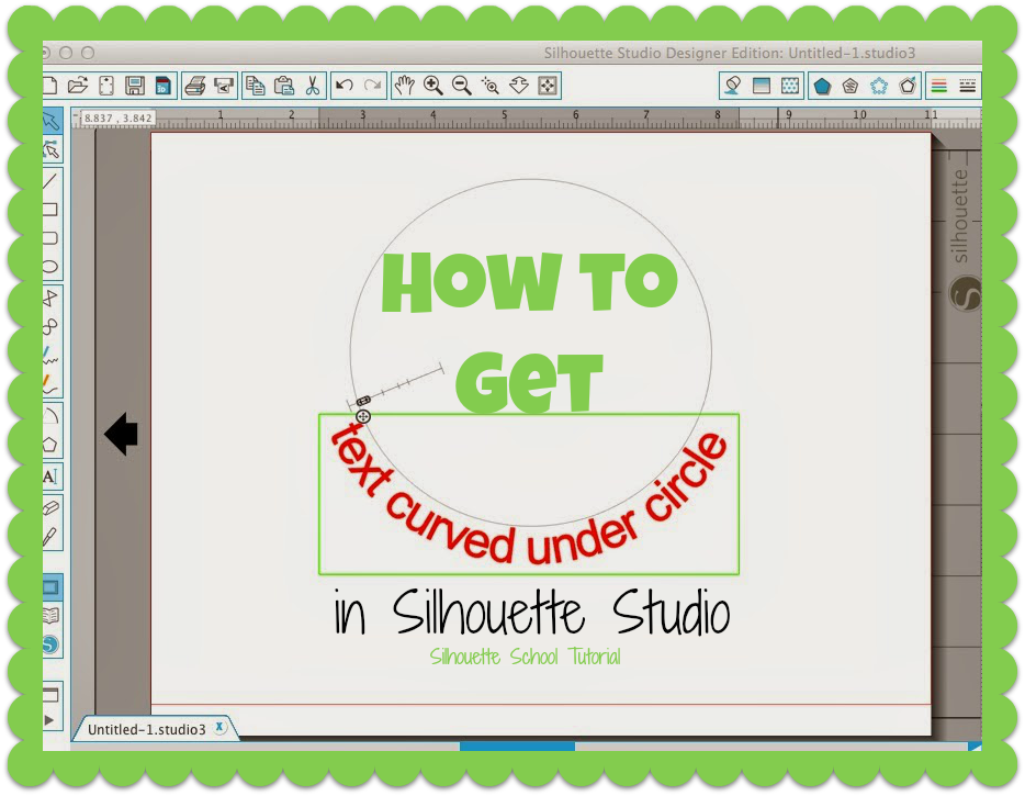 how to draw a curved text box in word