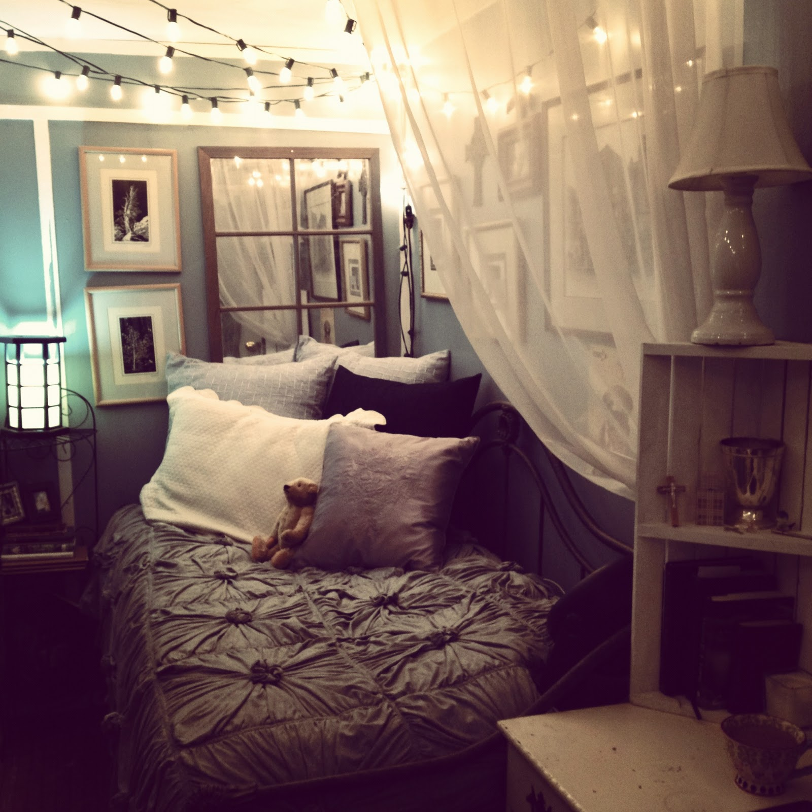 Cosy bedroom fairy lights - Fairy Lights