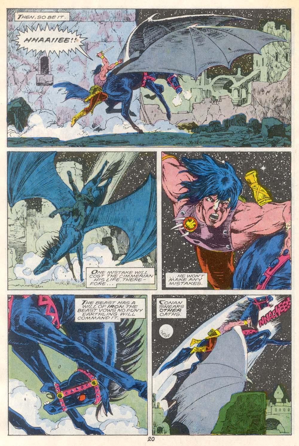 Conan the Barbarian (1970) Issue #209 #221 - English 16