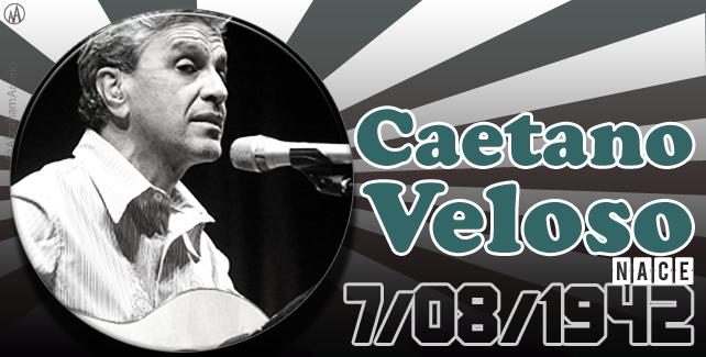 1942 #TaldíacomHoy nace Caetano Veloso, cantautor brasileño.