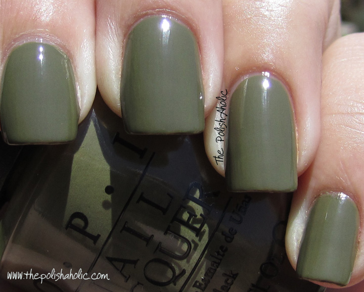 The PolishAholic: OPI Fall 2011 Touring America Collection Swatches!