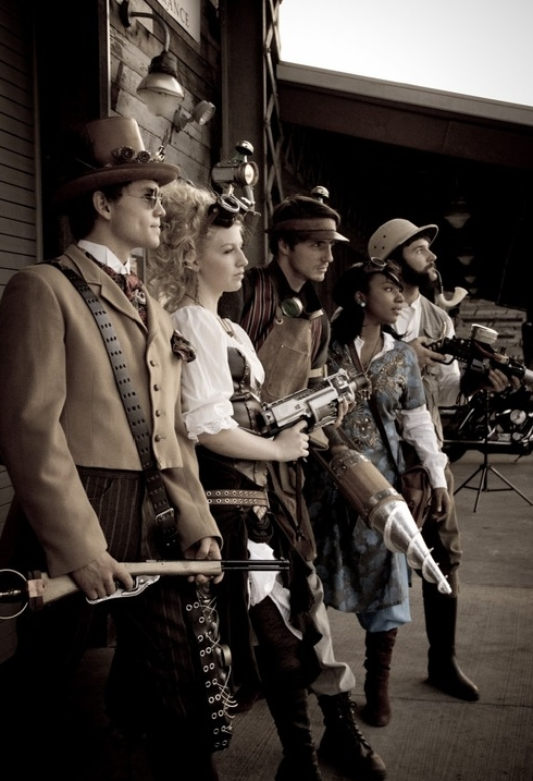 steampunk costume for men