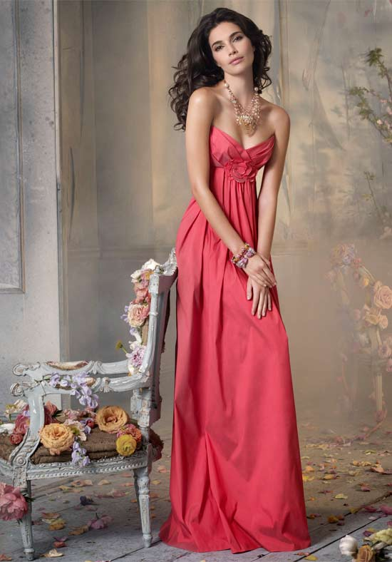 floor-length-bridesmaid-dress